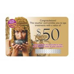 Scratch & Win Gift Card $50