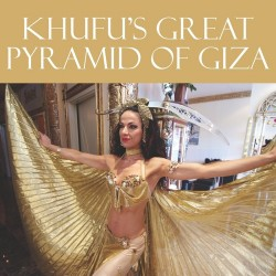 KHUFU'S GREAT PYRAMID OF GIZA