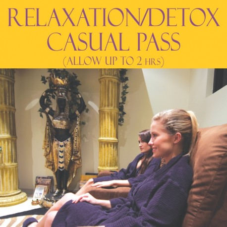 RELAXATION/DETOX CASUAL PASS