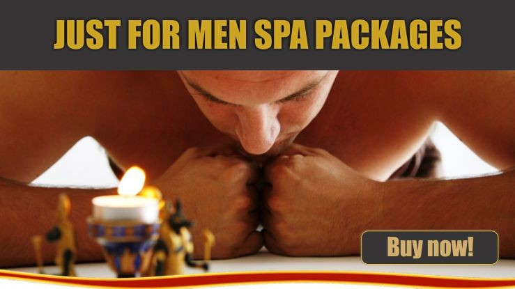 Just for men spa packages